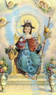 Atocha Jesus Holy Card