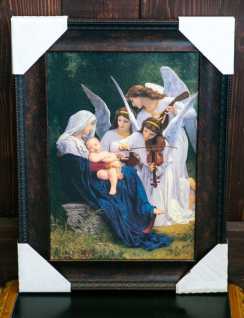 Song of the Angels, Jesus and Mary, Framed