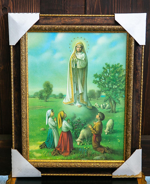 Our Lady of Fatima, Framed