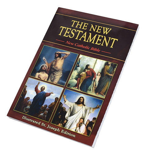 St. Joseph New Catholic Bible New Testament/Study Edition