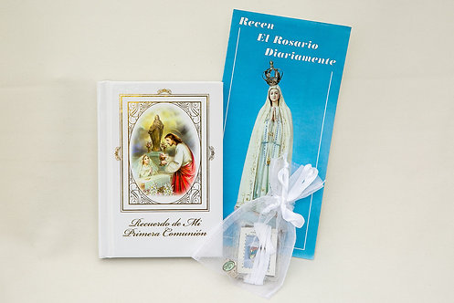 Spanish Communion Missal Set, Girl