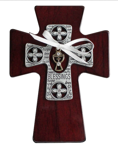 Blessings First Communion Wall Cross