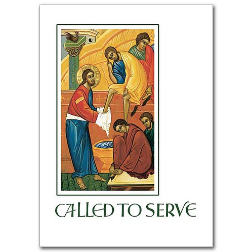 Called to Serve/Ordination Congratulations Card (Any Denomiation)