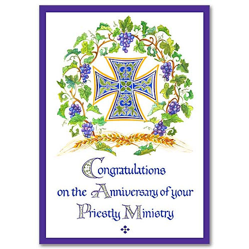 Your Priestly Ministry/Ordination Anniversary Card