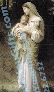 L'Innocence Holy Card