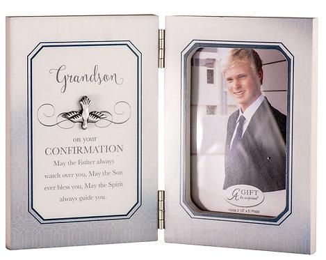 Confirmation Grandson Frame 3.5x5 Photo