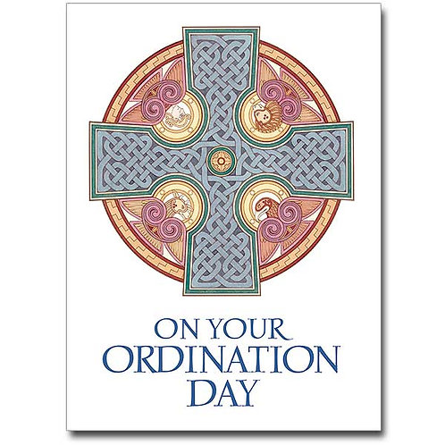 On Your Ordination Day Congratulations Card