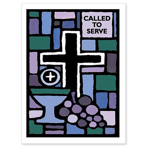 Called to Serve/Ordination Congratulations Card