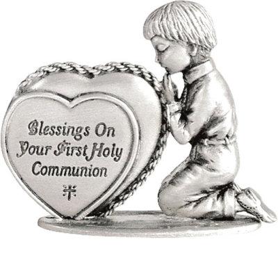 First Communion Figurine, Boy