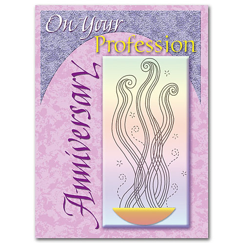 On Your Profession Anniversary/Religious Profession Card