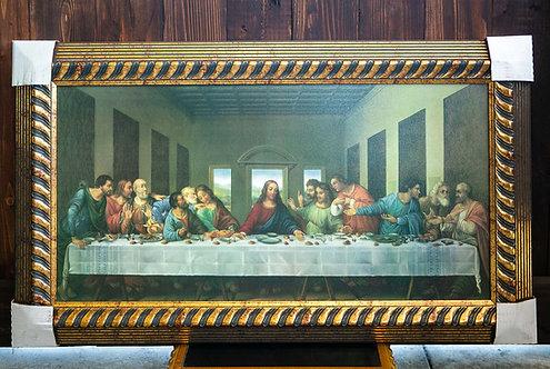 Last Supper, Framed