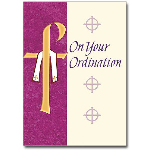 On Your Ordination Congratulations Card