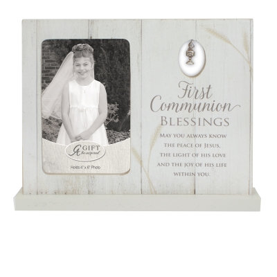 First Communion Blessings Frame 4x6 photo