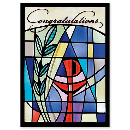 Congratulations Ordination Card