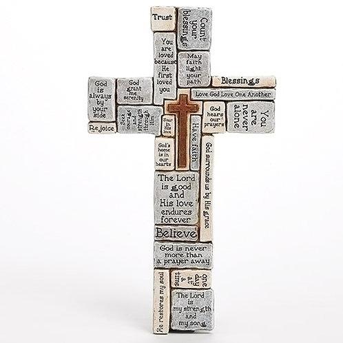 Crossword Wall Cross