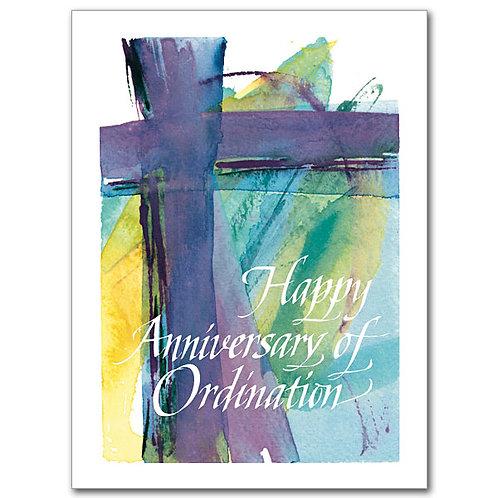 Happy Anniversary of Ordination Card