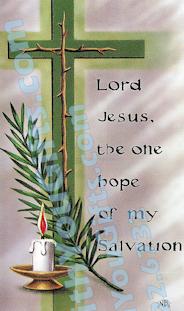 Crosses Holy Card, 4 Designs