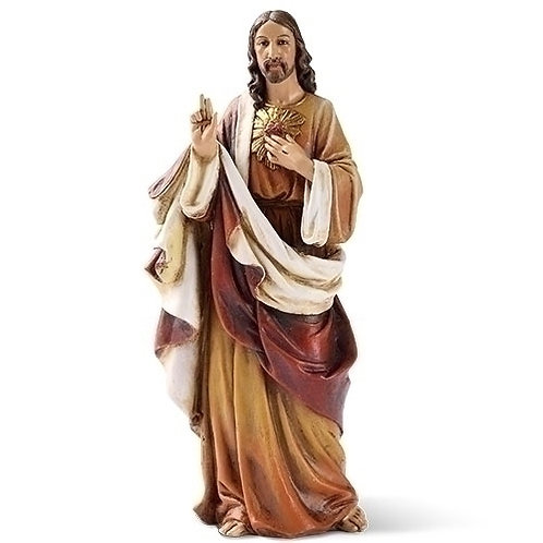 Sacred Heart of Jesus Figure, 6""