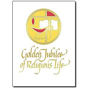 Golden Jubilee of Religious Life/Profession Anniversary Card
