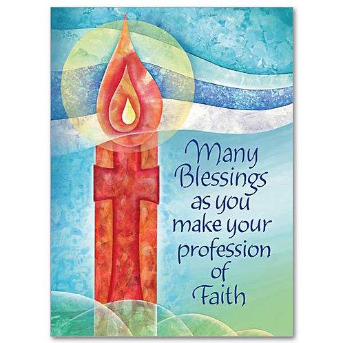 Profession of Faith/RCIA Congratulations Card