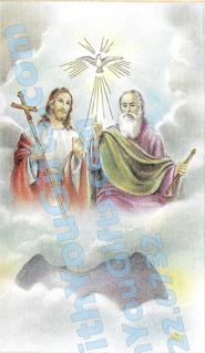 Holy Trinity Holy Card