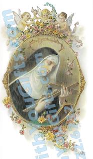 St. Rita Holy Card