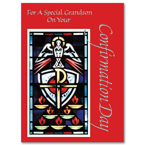 For A Special Granson on Your Confirmation Day Card