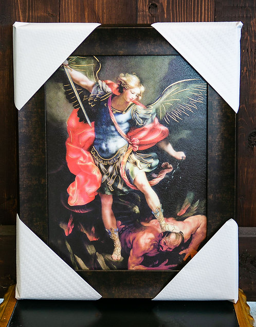 St. Michael the Archangel, Framed