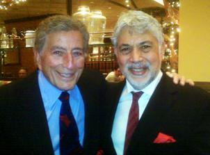 Monty and Tony Bennett