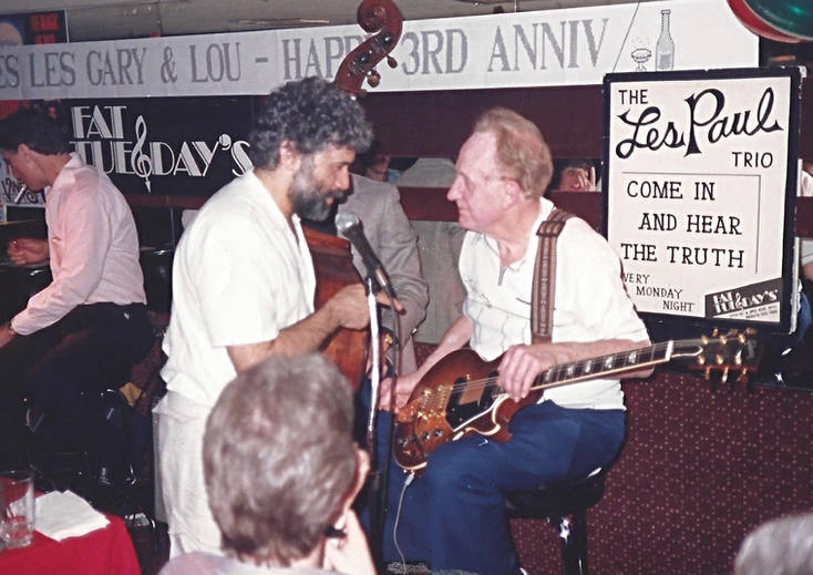 Monty and Les Paul