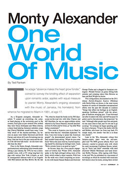 5.2011 - Alexander Feature DOWNBEAT.jpg
