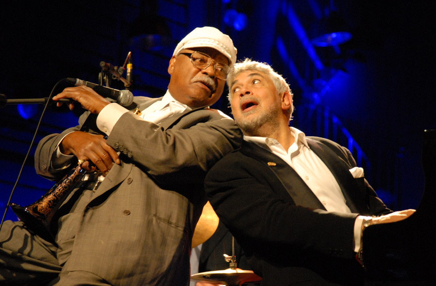 Monty and Clark Terry