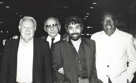 Monty Alexander, Ray Brown, and Herb Ellis, Johnny Frigo