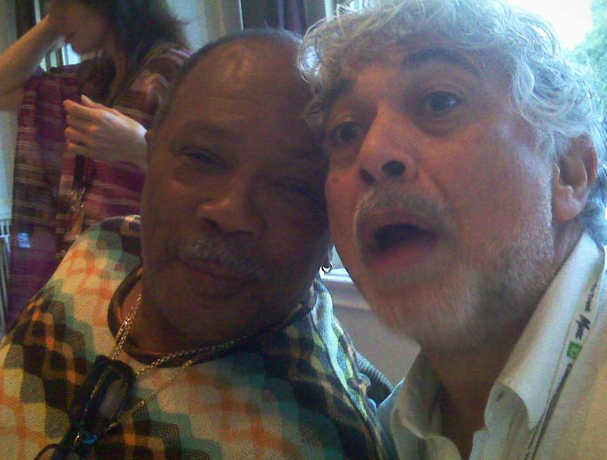 Monty and Quincy Jones