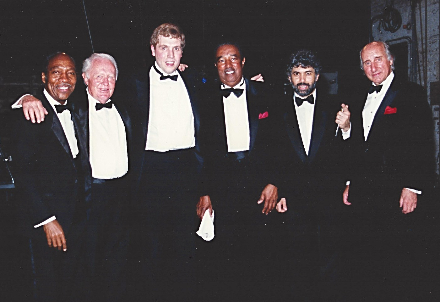 Monty, Ray, Herb, Johnny Frigo, Joe Wilder and Chuck Red