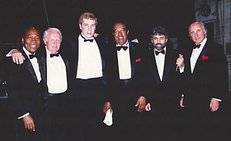 Monty, Ray, Herb, Johnny Frigo, Joe Wilder and Chuck Red