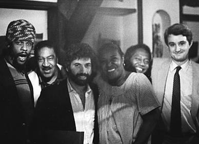 Monty Alexander, Othello Molineaux, Carrie Smith and spanish promoter Jordi Suñol.