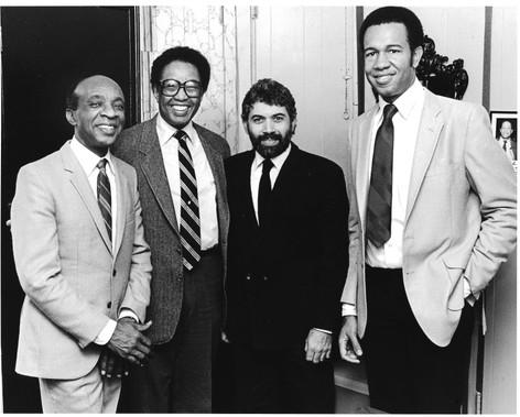 Monty, Ed Thigpen, John Clayton and Billy Tayor - 1990