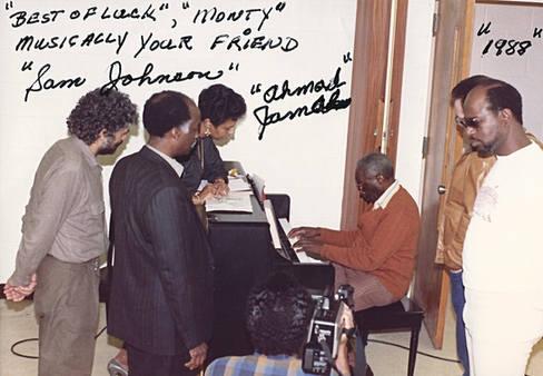 Monty Alexander Ahmad Jamal in Pittsburgh 1988