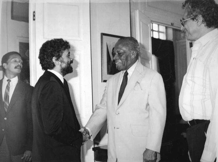 Monty and Governor General of Jamaica Sir Howard Cooke
