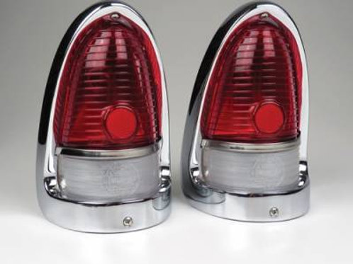1955 Chevy Complete Taillight Assembly- Pair