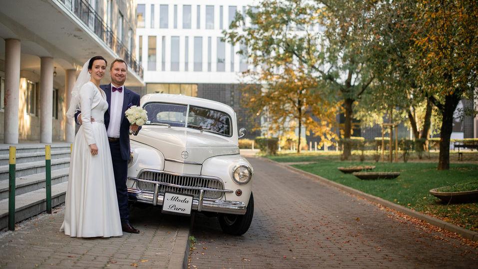 Ślub na Placu Zbawiciela i wesele w Konstancinie