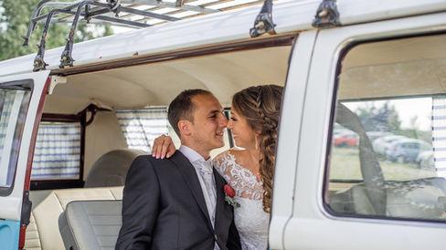 Polsko - Włoski ślub plenerowy