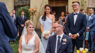 Ślub plenerowy na warszawskiej Pradze