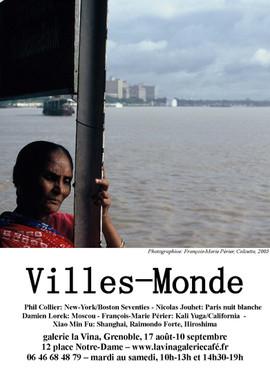 Affiches Ville Monde Calcutta Grenoble.j