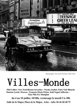 Affiche Villes-Monde Arles - Phil Collie