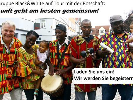 Schulprojekttag mit Black&White Schuljahr 2012/13  für Mittel- und Oberstufe  Angebote, Programm