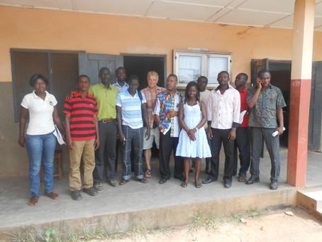 Wer möchte das von der St. Maries School in Ghana formulierte Ziel, ein internationales Schulnetzwer