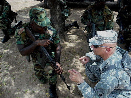 """A critical look at US activities in Africa has the """"Black Alliance for peace"""": As the U."""