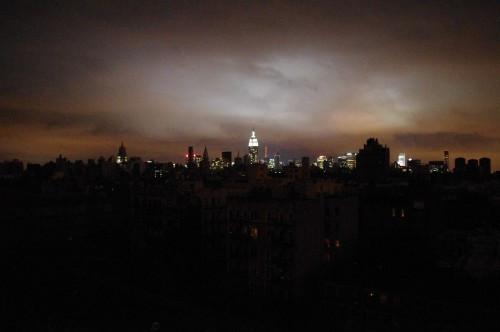 NY Sandy-Blackout